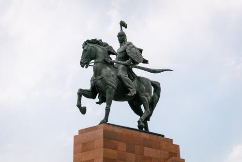 Manas, hero of Kyrgyzstan