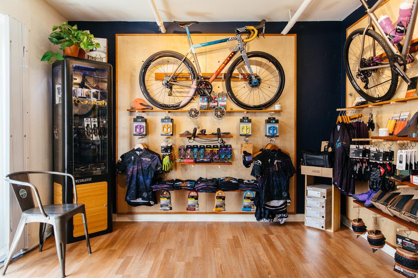 A Look Inside Santa Cruz's Spokesman Bicycles Outpost and Their Wild Custom Builds