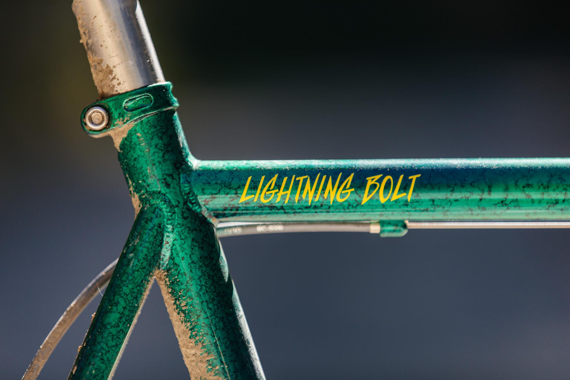 Ultra Romance's Crust Bikes Lightning Bolt