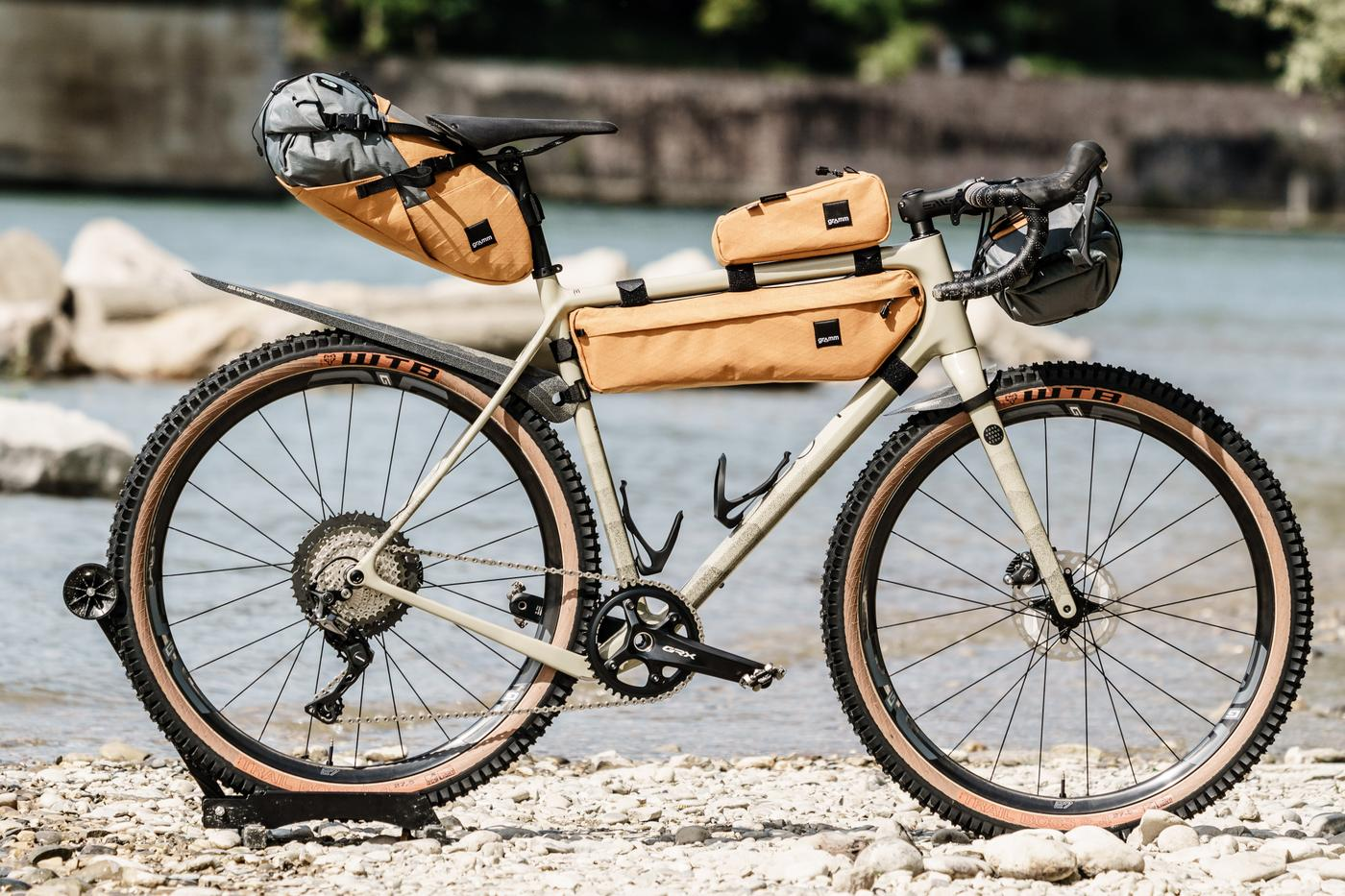 A Limited Edition Open Detour with GRAMM Bags, Ass Savers and Shimano GRX