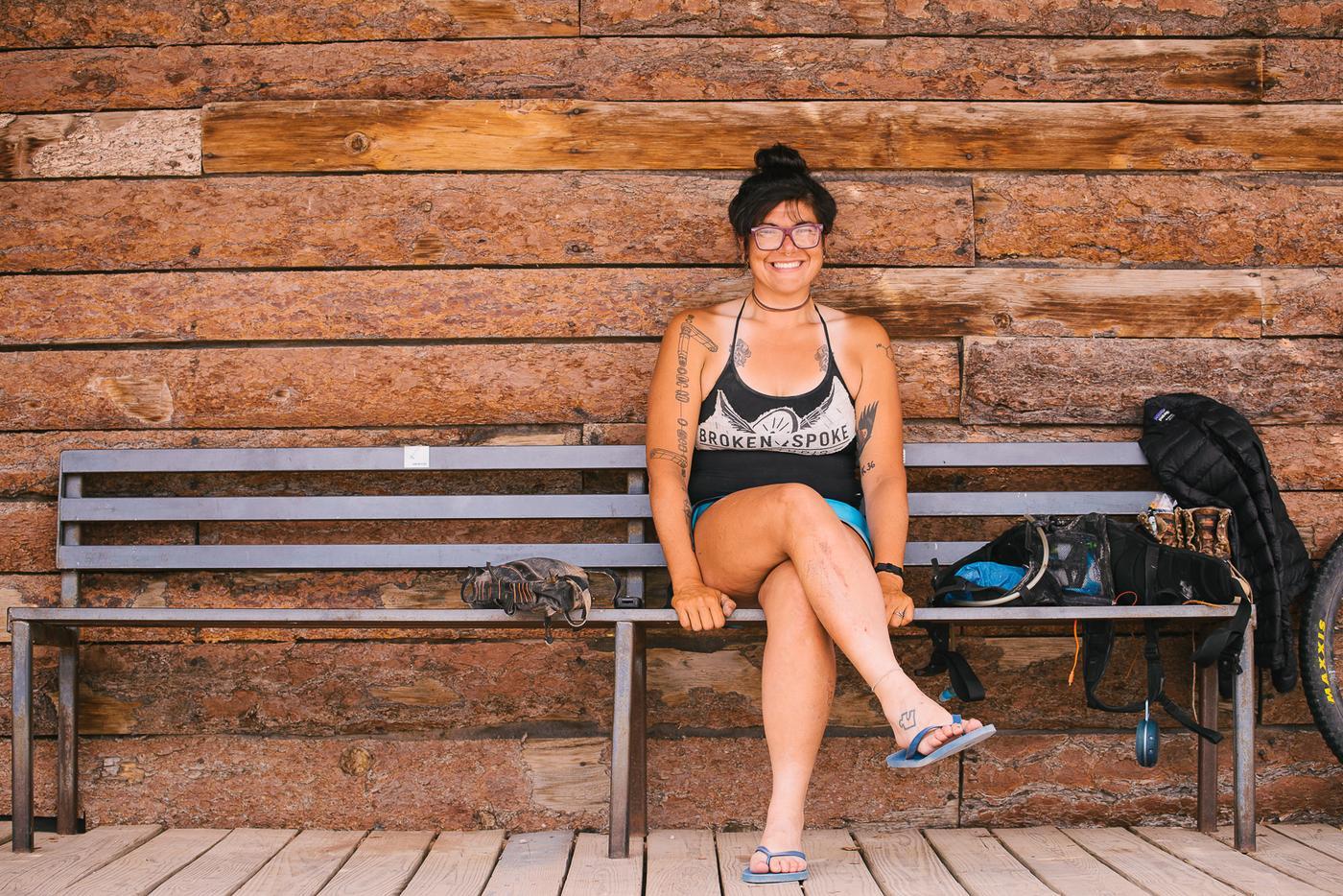 Alexandera Houchin in Bicycling Magazine
