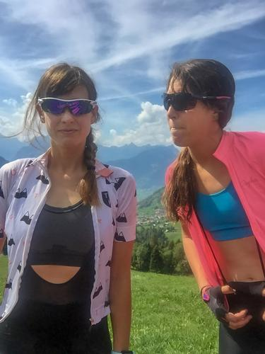 BFFs, Bikes, and the Alps