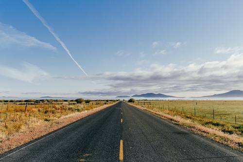 Long road.