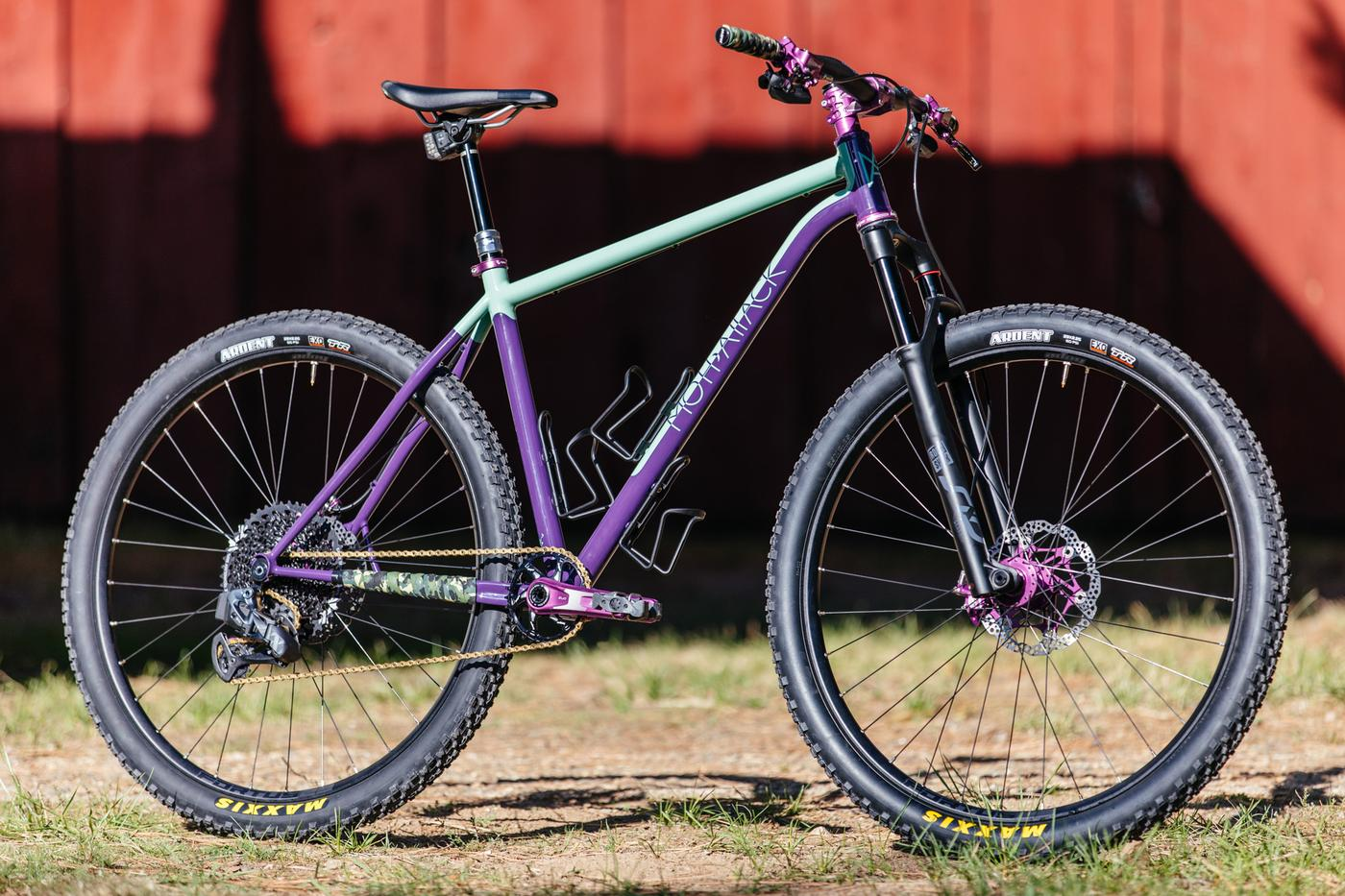 2019 Grinduro: Moth Attack Fillet Brazed MTB