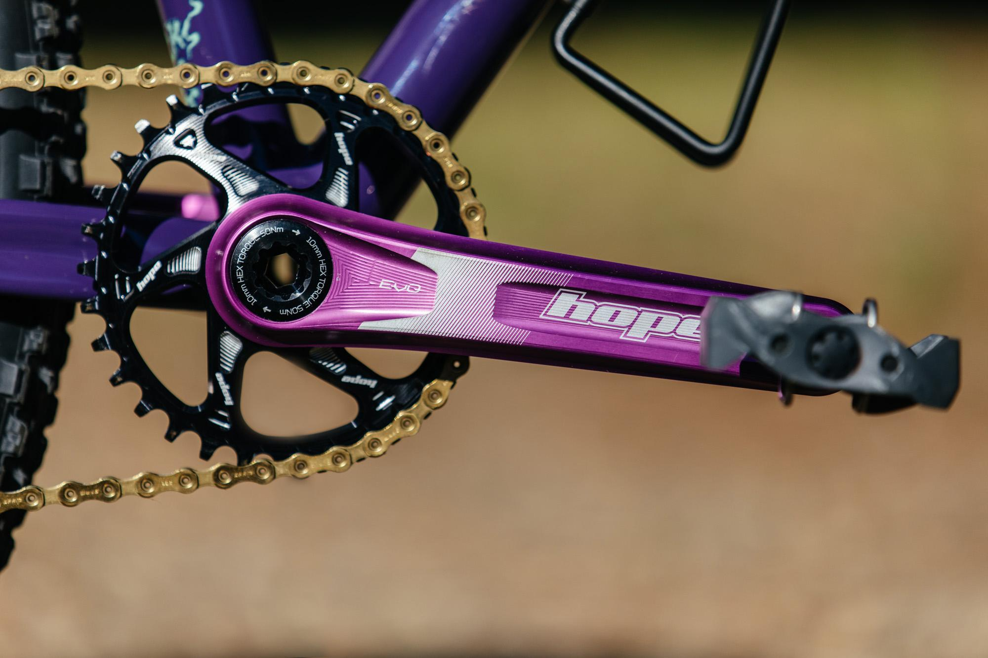 2019 Grinduro Moth Attack Fillet Brazed MTB