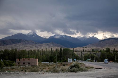 Tamga, Kyrgyzstan. (Rugile Kaladyte)