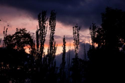 Sunset in Cholpon-Ata. (Rugile Kaladyte)
