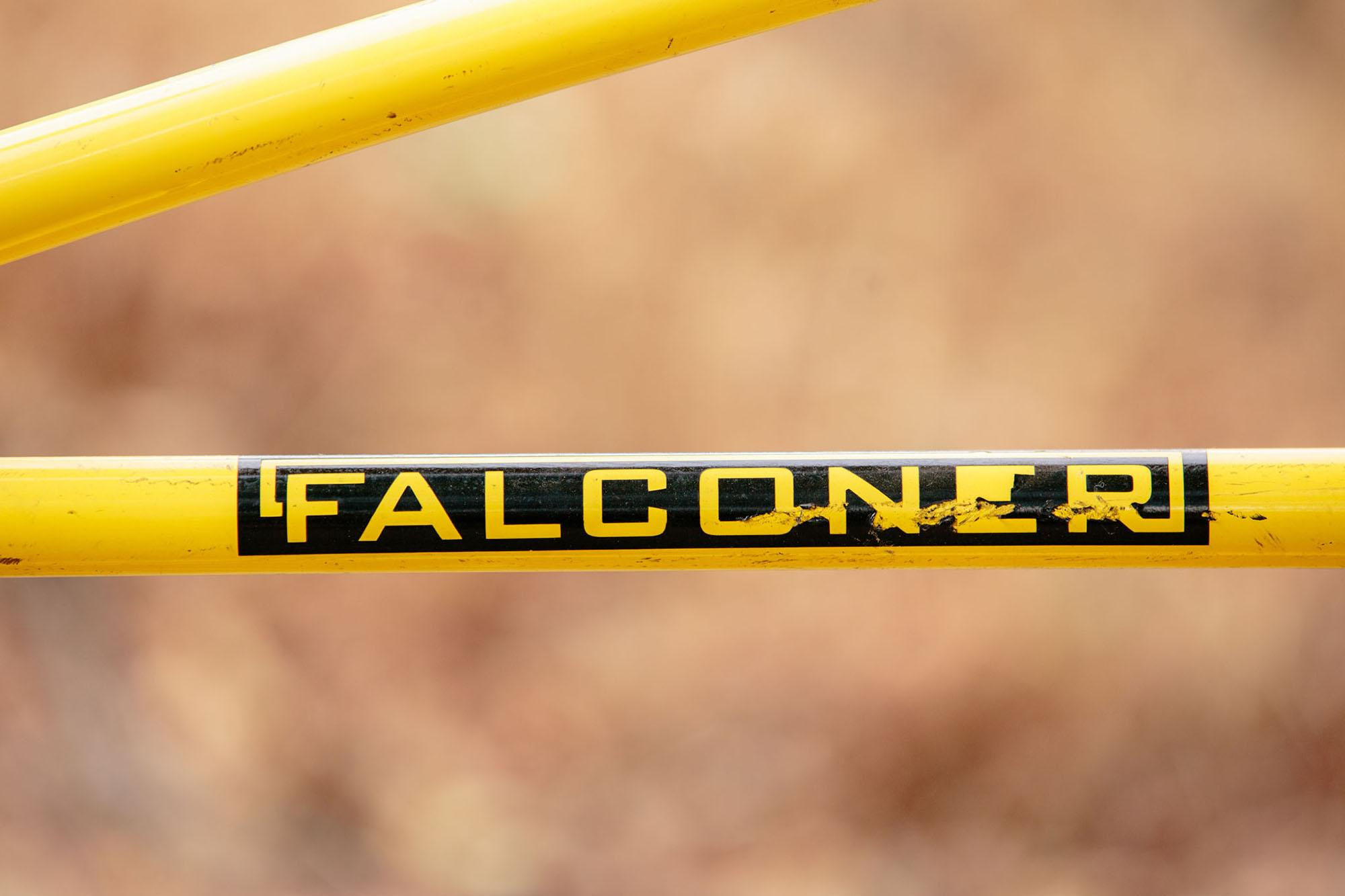 Falconer: Tribute to cooks brother cruiser. Coaster brake. Cam ripped this down Tam back in the day.