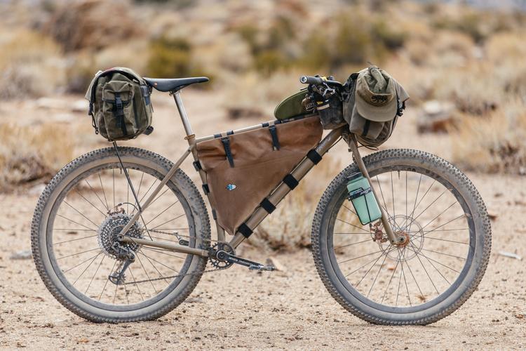 John's Titanium Sklar Pack Mule MTB with Tumbleweed Persuader Bars