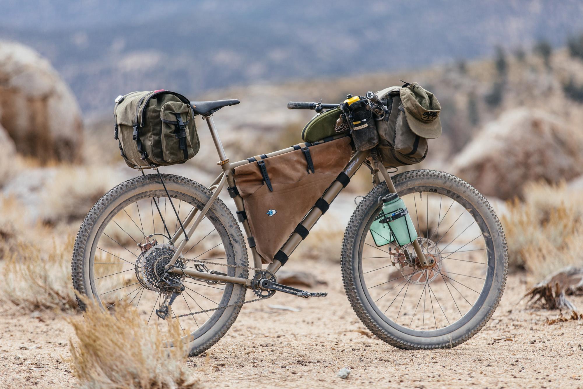My 29+ Titanium Sklar Pack Mule MTB with Tumbleweed Persuader Bars