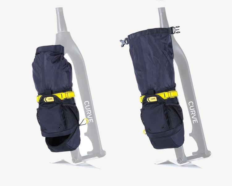Curve Cycles' Rocket Pooch Cargo Cage and Bag System