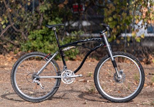 1 of 3 Retrotec and Ventana Colab 1995 Powerglide / Moto Lite/ Fork Razor Rock Bracing from Chico