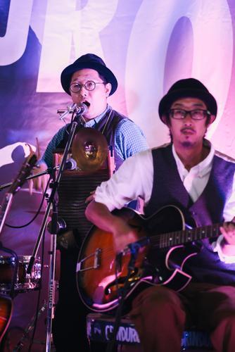 Olde timey band