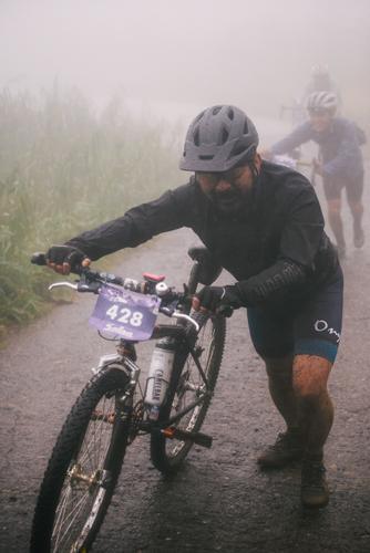 Finishing the death climb
