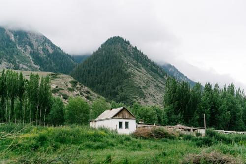 Home in the mountains
