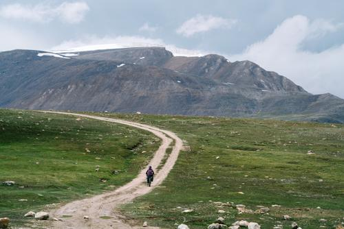 Heading off the main road
