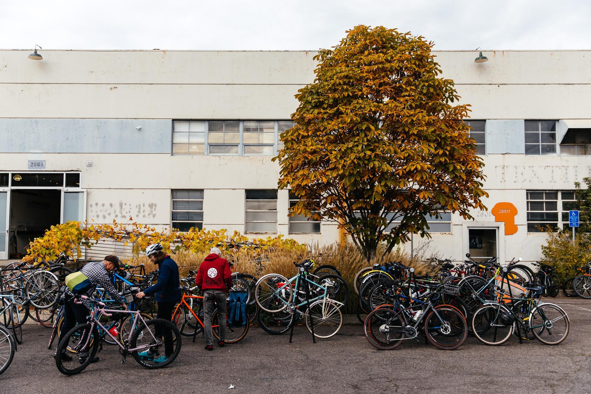 Bike parking!