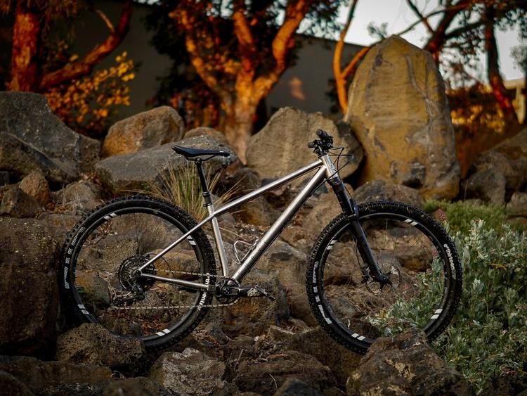 One Thing in Australia that Won't Kill You: the Curve Cycling Ti DownRock 29er Hardtail