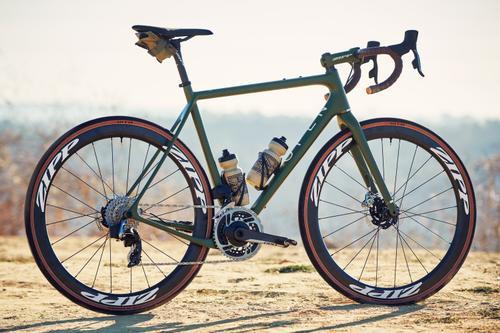 Premier Bicycle Werks Painted Jordan's OPEN U.P. RTP All Road