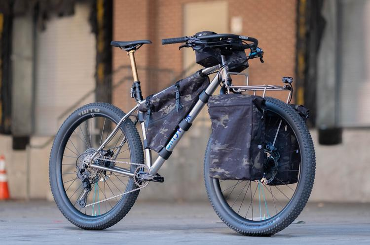 Philly Bike Expo: 44 Bikes Titanium Marauder Touring Bike