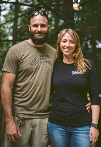 Mulberry Gap MTB retreat owners, Andrew and Kate Gates
