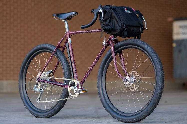 Philly Bike Expo 2019: Crust Bikes Lava Crackle Romanceür