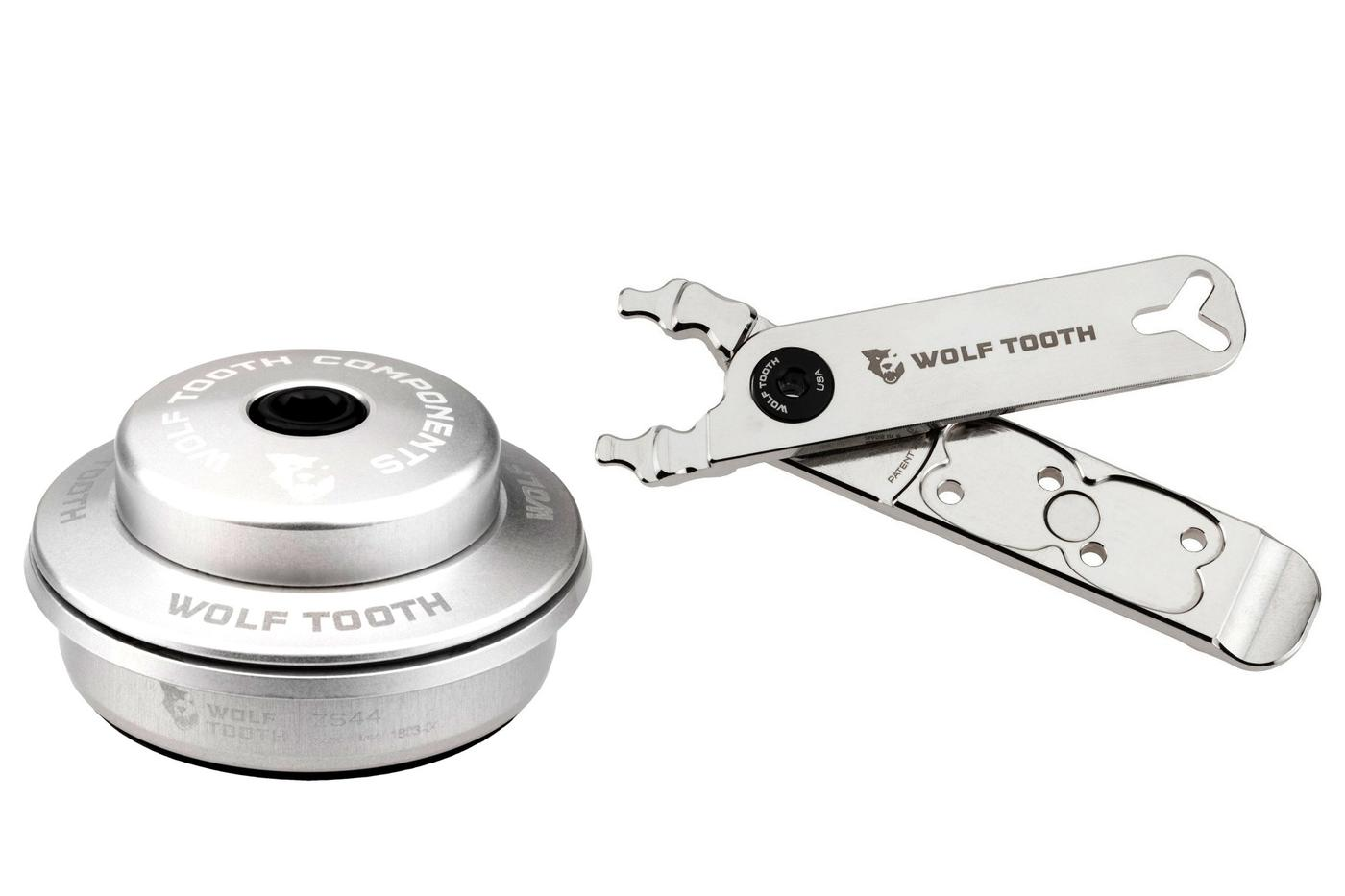Wolf Tooth Components Does Nickel Plating