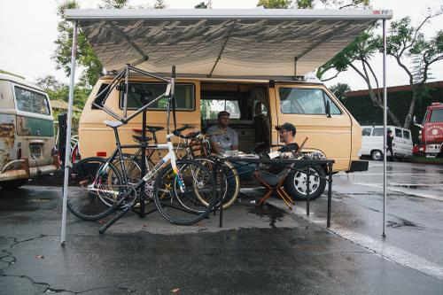 The Scene at the 2019 Cub House Bike and Car Show!