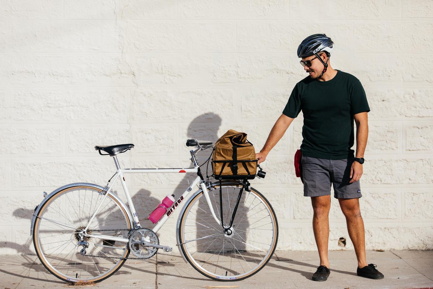 Alex and His Miyata City Bike