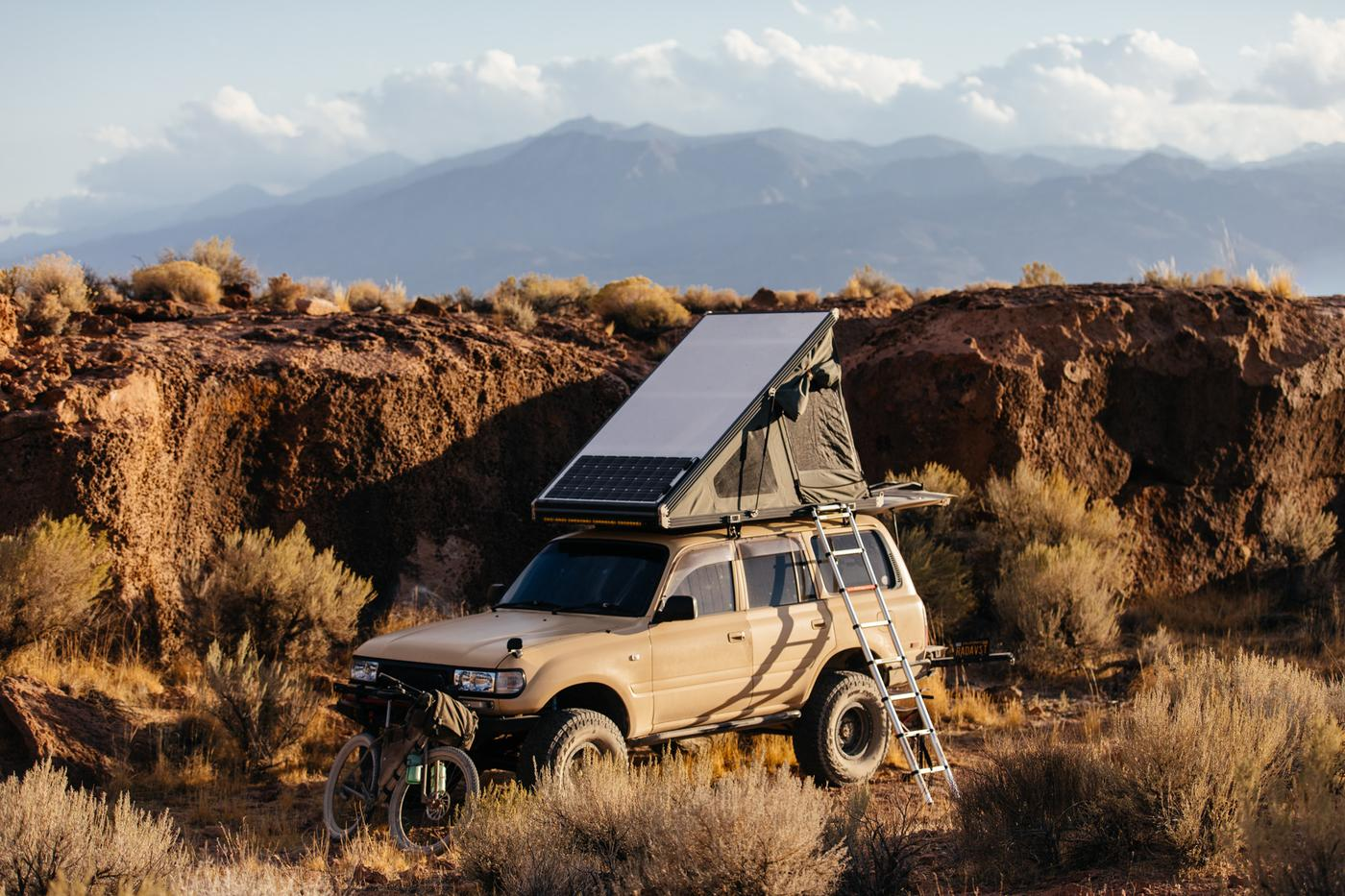 Go Fast Campers' Truck and SUV Pop Up Rooftop Tents are Perfect for Car Camping