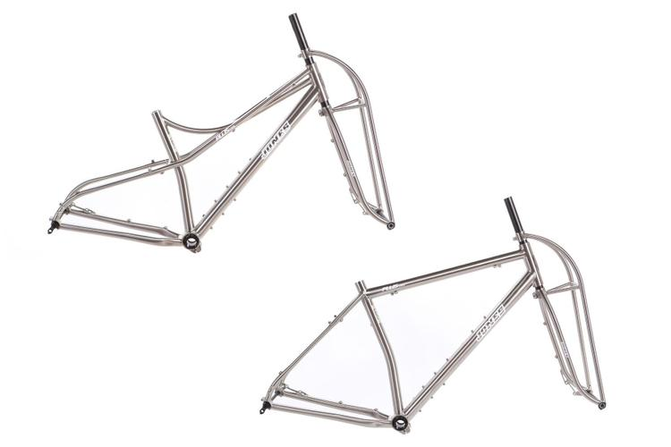 Jones Bikes Releases the SWB Titanium Space and Diamond Frames with Truss Forks