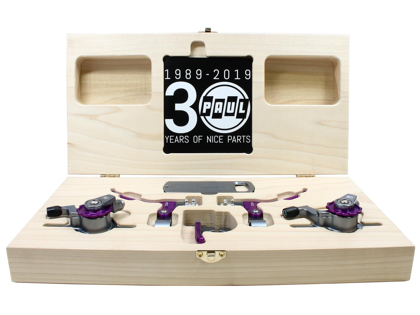 Paul Component Engineering's Limited Edition 30th Anniversary Box Set!