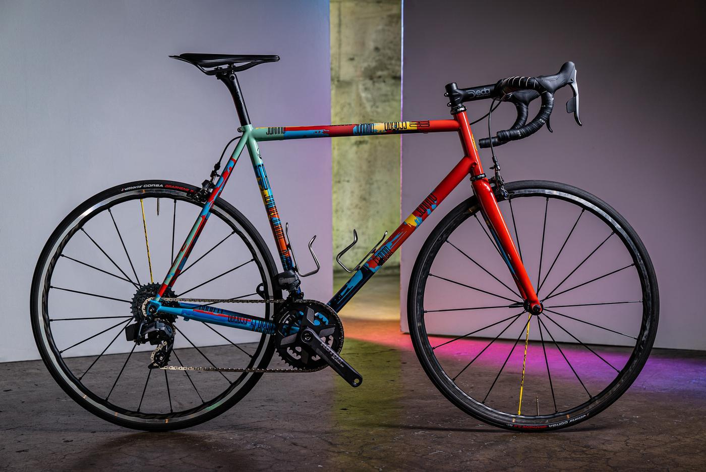 Scarab Cycles' RAUCH Santa Rosa Road Bike Is Based on the Work of Richard Diebenkorn