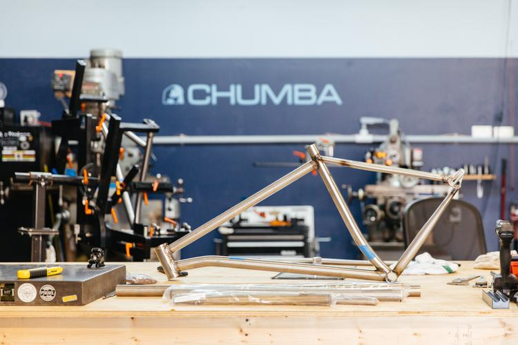 Tigged in Texas: Checking in with Austin Framebuilders Chumba Cycles