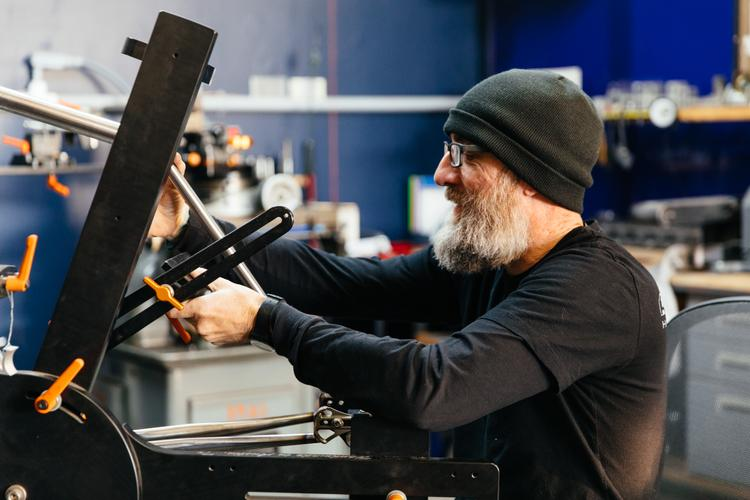 """Mark from Chumba Cycles on Cobra Framebuilding's """"Shut Up and Build Bikes"""" Podcast"""