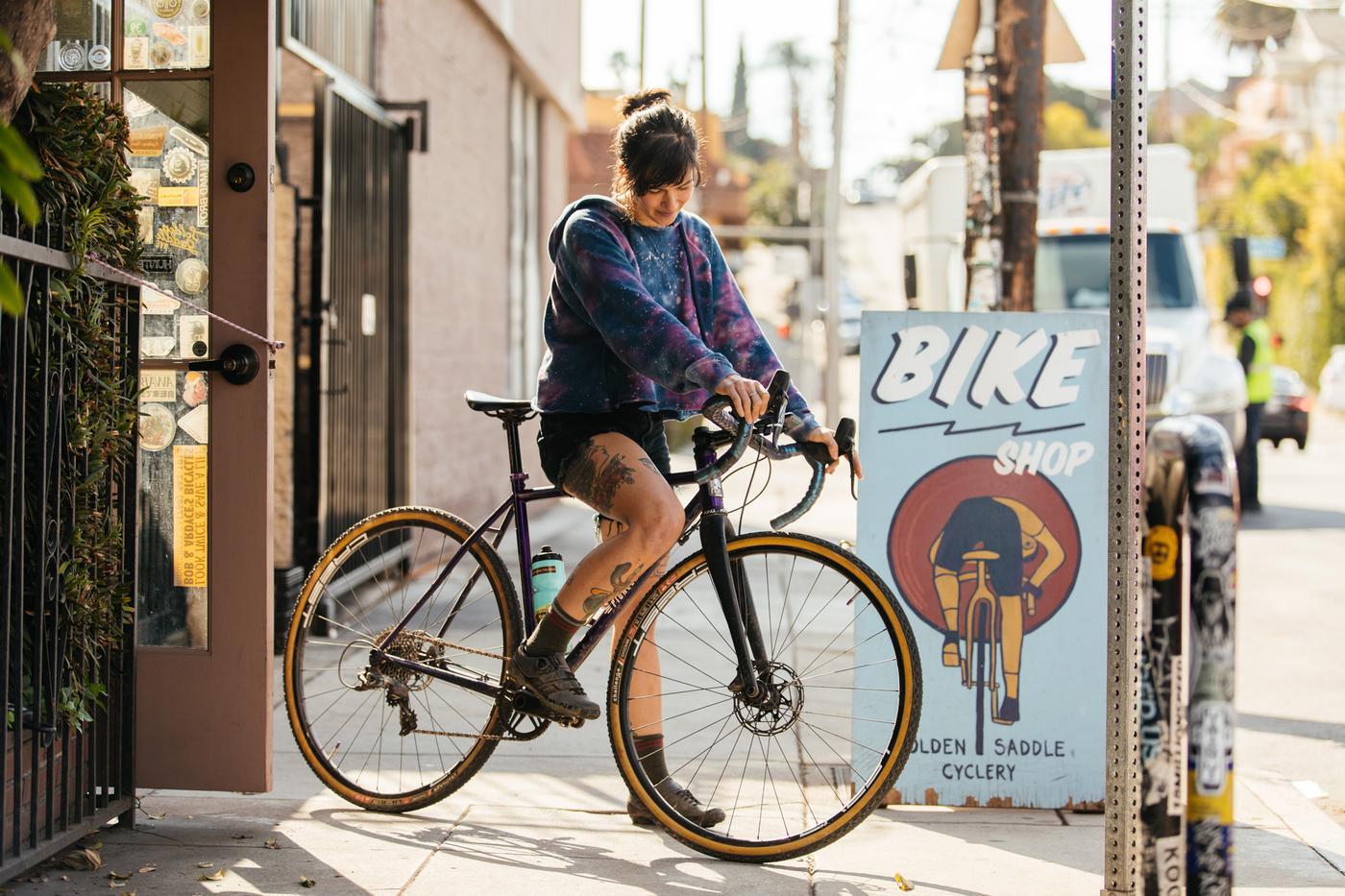 Rhys' Pioneer Valley Cowgirl Spaceship 'Cross Bike