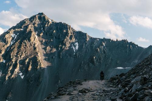 Rugged slopes