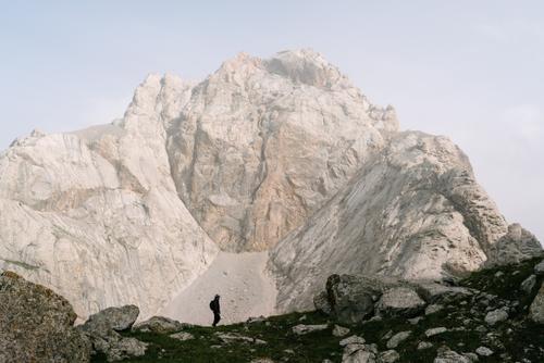 ...to rugged peaks...