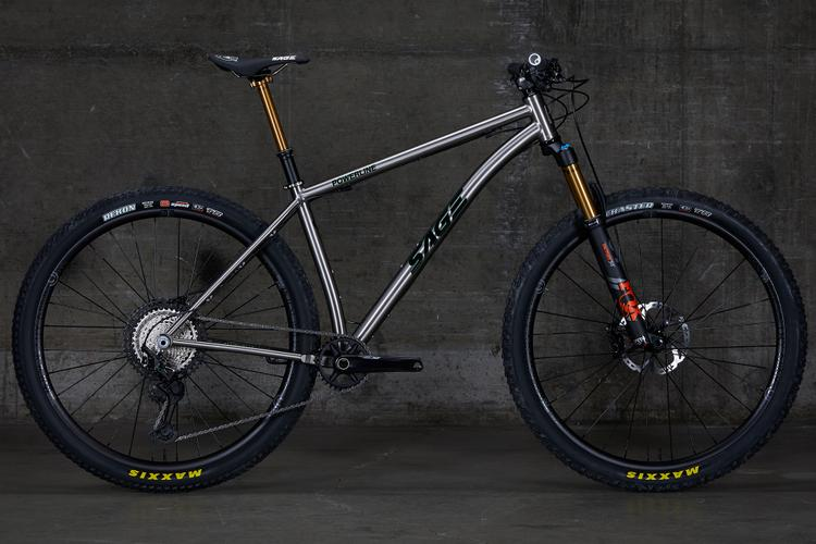 Sage's New Powerline Titanium 29er is Tuned for a 130mm Fork