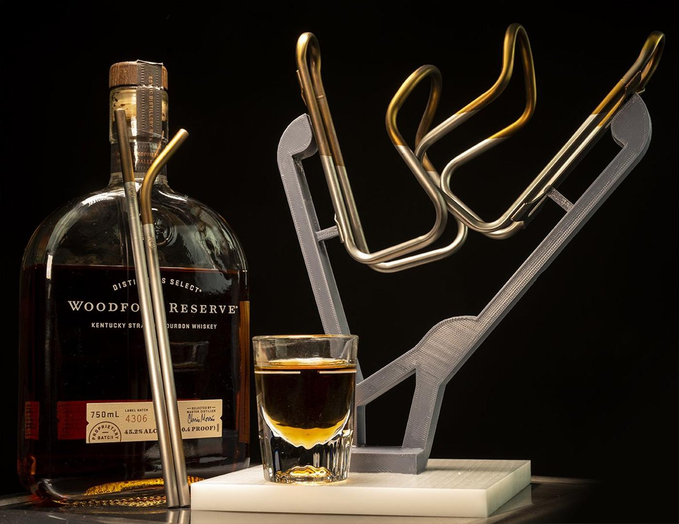 Silca's Bourbon Ti Cages and Ti Straw