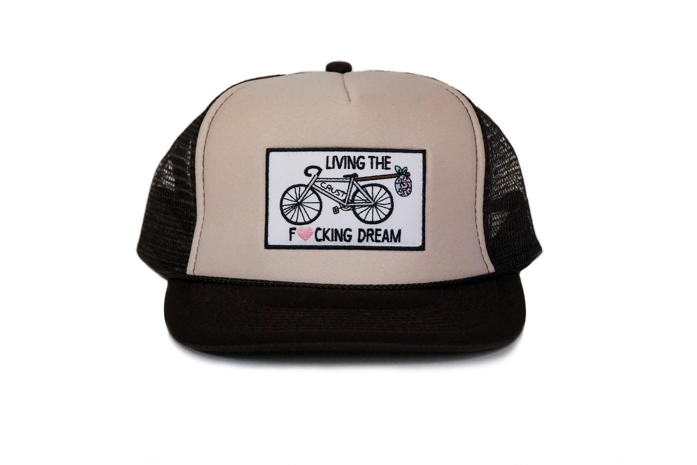 Crust Bikes Living the F'in Dream Hats