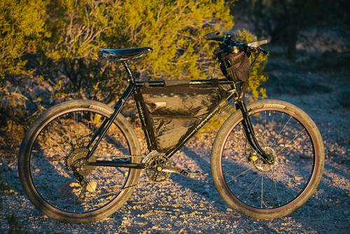 A tale of two black and gold touring bikes-32