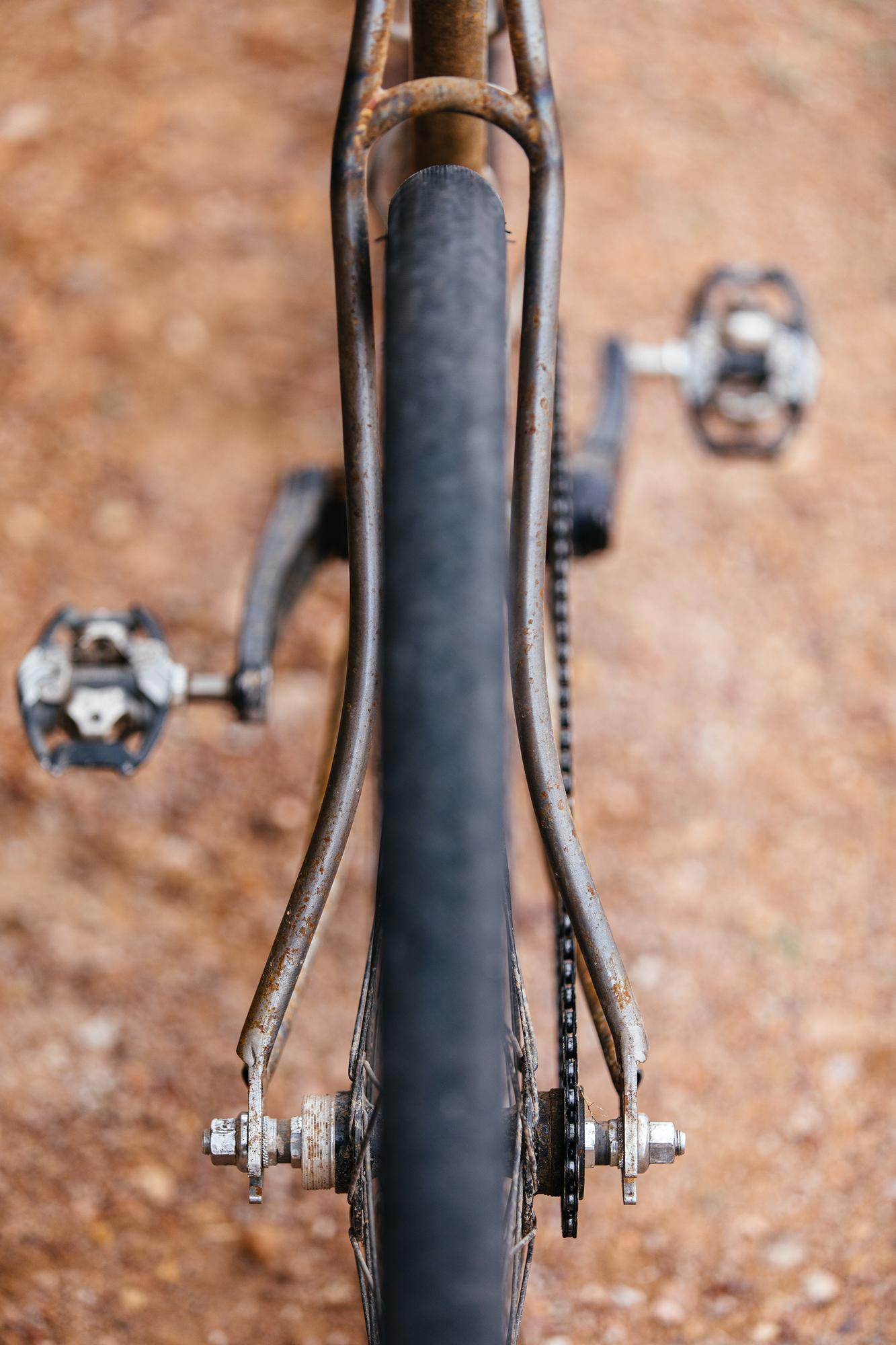 Adam's Sklar Scorcher Gravel Fixed Gear