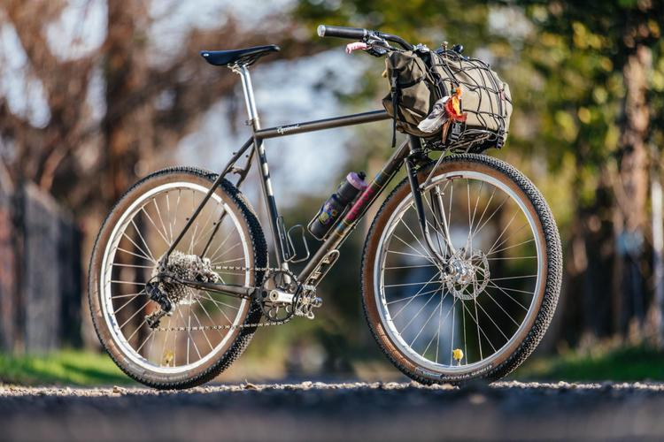Corey's Raw Crust Bikes Evasion Tourer