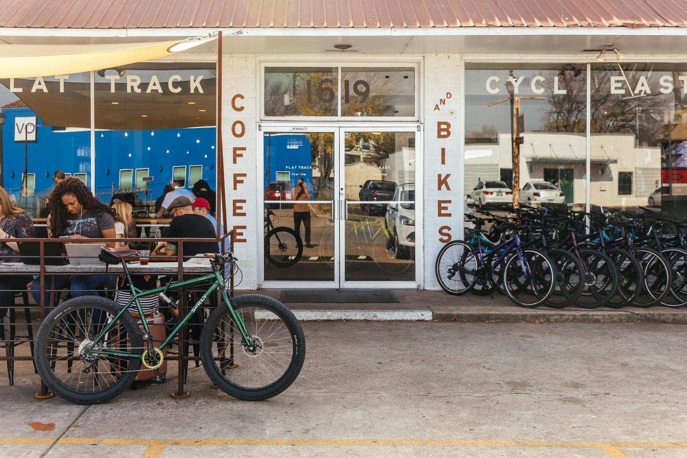 Austin's CyclEast and Flat Track Coffee Continue the Bikes and Coffee Tradition