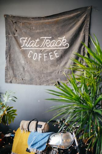 CyclEast and Flat Track Coffee