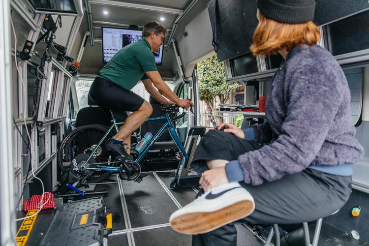 A Look Inside Endurance PDX's Mobile Fit Studio