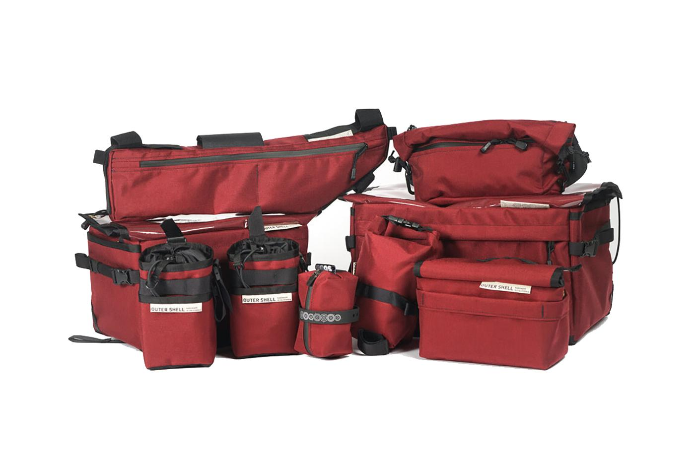 Outer Shell Now Offers Entire Catalog in Burgundy Cordura Fabric