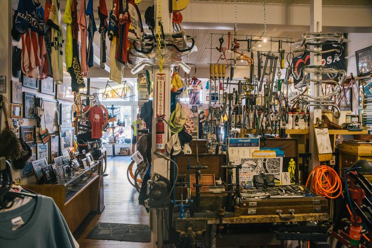 A Tour of Ken Wallace's Bisbee Bicycle Brothel