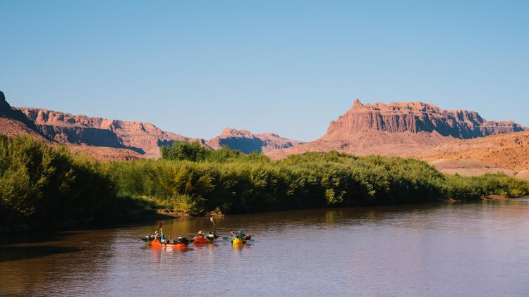Wayward Duck Decoys and a Few Dingdongs: Bikerafting the San Juan River
